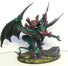 Tyranid Hive Tyrant Omega - designed and painted by hellric