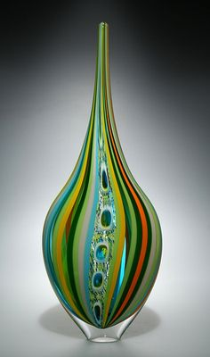 David Patchen: blown glass artwork