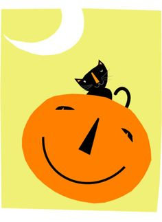 halloween in dawanda Other – black cat halloween card collection – a unique product by gladdog on DaWanda Diy Halloween Gifts, Halloween Banner, Cute Halloween, Spirit Halloween, Vintage Halloween, Halloween Decorations, Halloween Images, Sock Monkey Birthday, Scary Cat