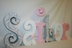 50+ White Letters for Baby Room - Low Budget Bedroom Decorating Ideas Check more at http://davidhyounglaw.com/70-white-letters-for-baby-room-ideas-for-basement-bedrooms/