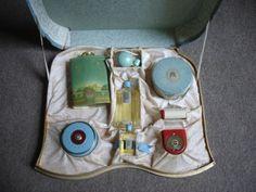 Image detail for -Coty Paris Toiletries Set ~1929 | The Vintage Traveler