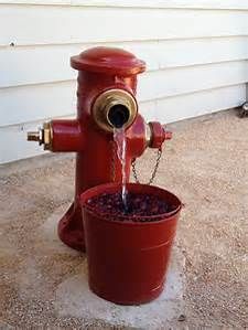 Fire Hydrant Yard Fountain - Bing images