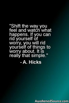 To learn more on Esther Hicks and Law Of Attraction visit: http://awakenedsource.com