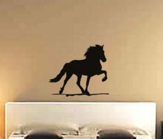Horse decal-Horse sticker-Icelandic horse-Wall decal-Horse wall decor-24 X 28 inches