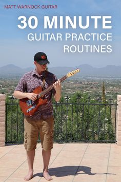 A guitar practice routine is the most effective way to grow as a musician. Enjoy my beginner friendly free lesson and start your routine today! Learn Acoustic Guitar, Guitar Strumming, Guitar Tabs Songs, Guitar Chords Beginner, Learn To Play Guitar, Guitar Tips, Music Theory Guitar, Music Guitar, Playing Guitar