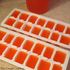 Halloween Orange Sherbet Punch - The Casual Craftlete - Craft. Cook. Run.