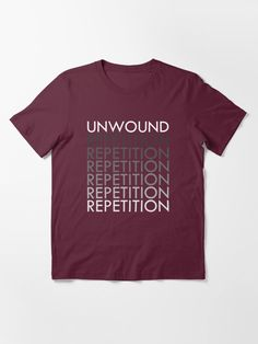 """""""UNWOUND"""" T-shirt by mrezaaura 