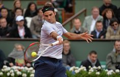 Roger Federer makes tennis look too easy.