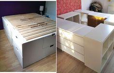 수납침대, 벙커침대 DIY 자료 : 네이버 포스트 Outdoor Furniture, Outdoor Decor, Outdoor Storage, Dresser, Interior, Room, Home Decor, Ideas, Bedroom