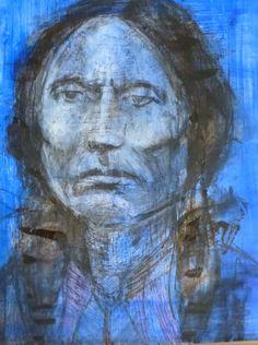 Mixed Media  Chief Quanah Comanche II