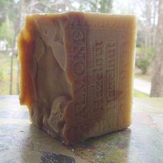 Natural Handcrafted Soap Almond Hazelnut