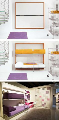 Murphy Bunk Beds On Pinterest Bed And