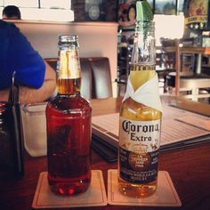 Photo by samhaga - Just a cold one on a warm spring evening. #beer #relax@#drink