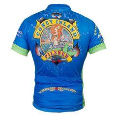 Coney Island Pilsner Zip-Up Cycling Jersey   WearYourBeer.com