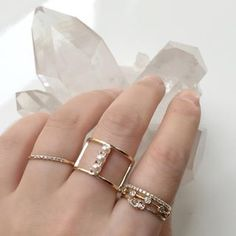 Vale Jewelry custom pearl cage ring