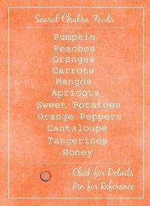 Sacral Chakra how to heal your creative emotional chakra with orange food. – Vannasana