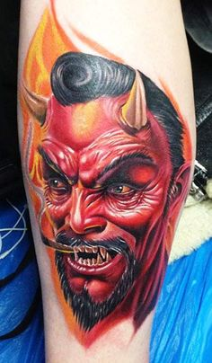 devil tattoo colour tattoos tattoo gallery schmidt tattoo photos chris ...