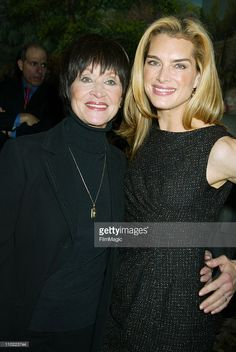 Chita Rivera and Brooke Shields during Brooke Shields Hosts the 2004... News Photo | Getty Images