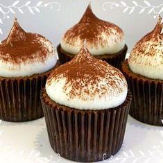 Kek Tariflerim - Part 33 Tiramisu Cupcakes, Coffee Cupcakes, Cake Recipes, Dessert Recipes, Desserts, Pasta Cake, Cap Cake, Cake Boss, Food Packaging
