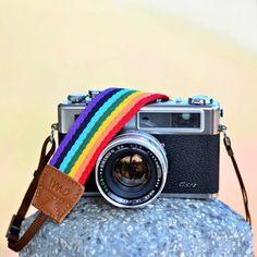 My design inspiration: Rainbow Camera Strap on Fab.