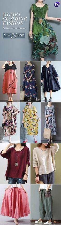 Women's Clothing Fashion For BANGGOOD 11th Anniversary, up to 75% OFF. Blouse Fashion, Dress Fashion, Plus Size Fashion. Choose Your Style!