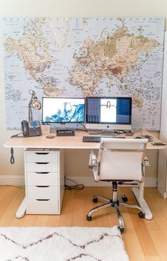 Santiago's Modern Nursery That Doubles as a Home Office — My Room | Apartment Therapy