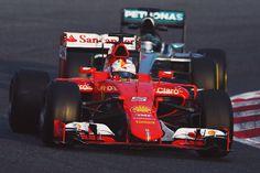Sebastian Vettel, Nico Rosberg | F1 Testing in Barcelona II