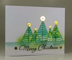 Stempel Spass: Christmas card with non-Christmas stamp