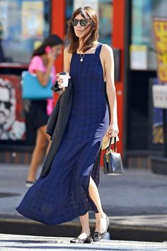 Alexa Chung out in New York