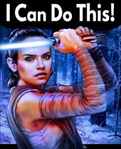 Rey Can Do It! #wecandoit #rey #whereisrey #starwars #forceawakens #theforceawakens #sw #rosietheriveter #teeshirt #tshirt #tee #riptapparel RIPT Apparel