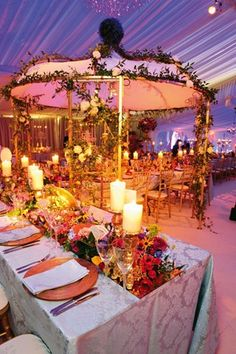 Luxe Wedding; Marie Antoinette inspired ceremony; Wedding Ideas (BridesMagazine.co.uk)