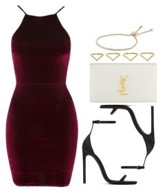 """Sin título #12198"" by vany-alvarado ❤ liked on Polyvore featuring Oh My Love, Yves Saint Laurent, Ana Khouri and Michael Kors"