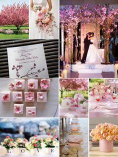 DC Wedding Trends: Cherry Blossoms