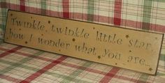 Twinkle Twinkle Little Star Country by thecountrysignshop on Etsy, $26.00