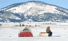 Organizers expect at least 200 entrants in this year's Ice Fishing Tournament at Eagle Nest Lake State Park