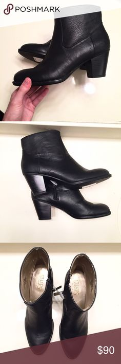 NEW [Chaps] black heeled boots women's size 6.5 Brand new, never worn and still with tags. Chaps boots women's size 6.5 Chaps Shoes Ankle Boots & Booties
