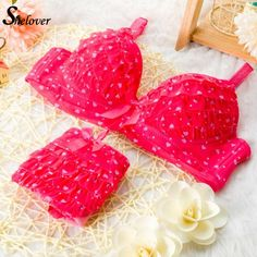 Sheloer Women Bra Set Dot Ruffels Hot Sexy Summer Cute Girls Bra Brief Sets Underwear Ropa Interior Mujer New Bra Conjunto De -in Bra & Brief Sets from Women's Clothing & Accessories on Aliexpress.com | Alibaba Group