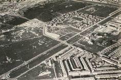 1925, van linksonder naar rechtsboven de Sportlaan en de Segbroeklaan. Haaks daarop de Goudenregenstraat met aansluitend de Nieboerweg. 5bc8393c-f1df-4e39-ba3d-ec29d6087ffa.jpg