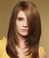an example of a forward graduation. Ask for Face framing layers, or ask for a forward graduation from your stylist