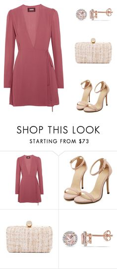 """Pink"" by ivanazb ❤ liked on Polyvore featuring Reformation, Inge Christopher and Allurez"