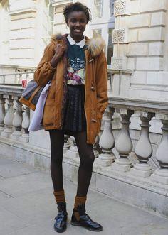 20 Inspiring Street Style Looks from London Fashion Week