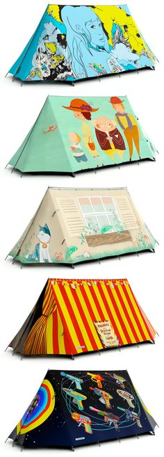 FieldCandy stylish tents for women