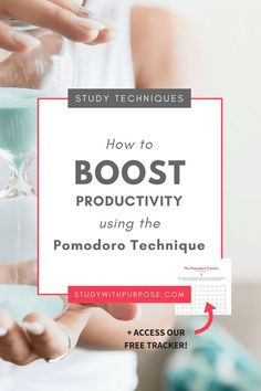 The Pomodoro Technique is a time-management and productivity tool used to break your study down into short intervals of approximately 25 minutes. Exam Study Tips, Note Taking Tips, Scholarships For College, College Students, Study Techniques, College Organization, Time Management Tips, Business Tips, Online Business