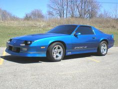 1987 Chevrolet Camaro IROC Z - MY MANS first car - he looked so good behind the wheel back in HS :0)