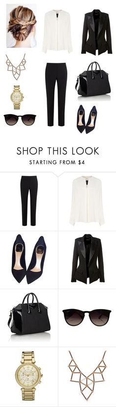 """""""Untitled #44"""" by sanduema on Polyvore featuring Paul Smith Black Label, Derek Lam, Christian Dior, Alexandre Vauthier, Givenchy, Ray-Ban, Michael Kors and Chicnova Fashion"""