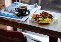 The Deli Counter cafe Deli Counter, Melbourne Cbd, Food And Drink, Queen, Coffee, Street, Tableware, Places, Kitchen