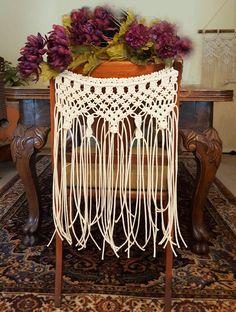 """Macrame Wedding Chair Backs Decor Bohemian Boholife Boho Wedding """"Celebration"""""""