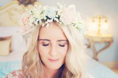 A Gypsophila Flower Crown And Pastel Hues For a Spring Wedding in Northumberland | Love My Dress® UK Wedding Blog
