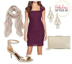 What To Wear To A Fall Wedding ~ Choose A Dress In A Rich Harvest Shade
