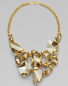 I don't usually like gold jewelry, but I'm on board with this.
